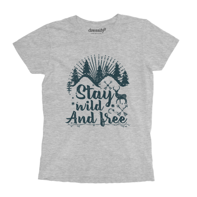 Stay Wild and Free Boys T-shirt