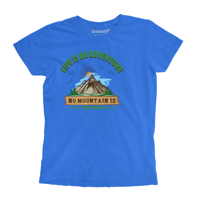 No Mountain is too High Boys T-shirt
