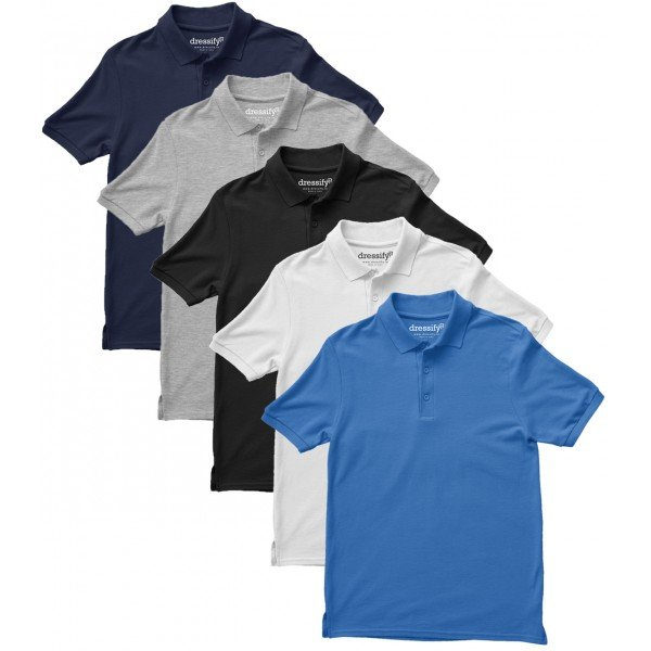Pack of 3 Polo Cotton Tshirts
