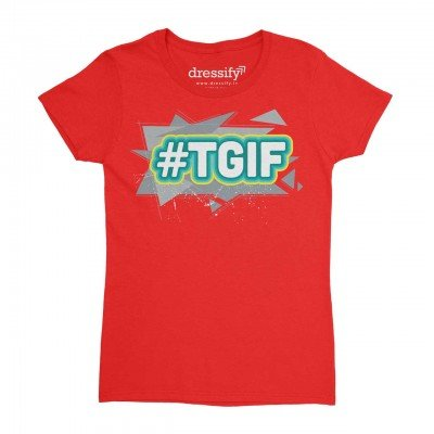 TGIF Kids T-shirt for Girls