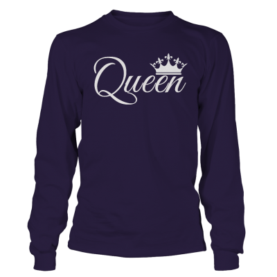 Queen Full sleeves Couple Tshirt